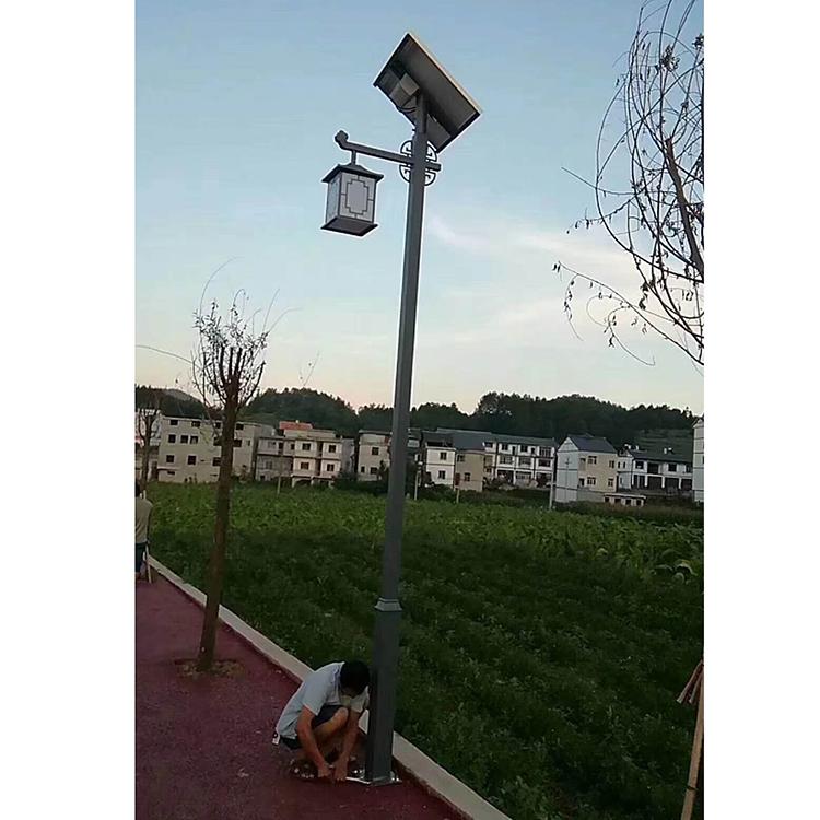 4米太阳能庭院灯各种样式 厂家销售米LED光源