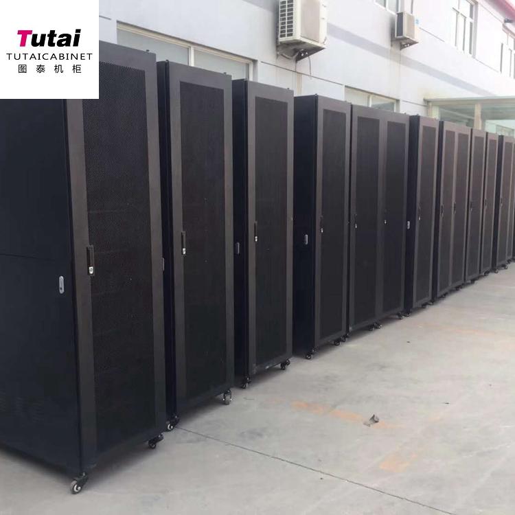 厂家直销 十六折型材服务器机柜 型材机柜 冷通道机柜