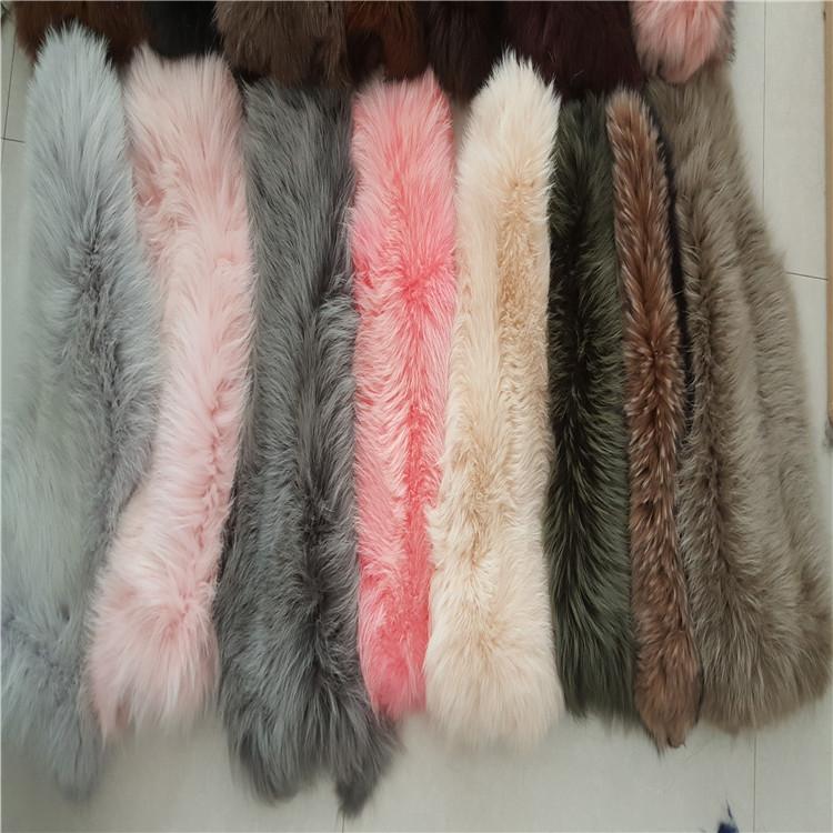 厂家大量供应各种服饰专用优质貉子皮张 皮草提供