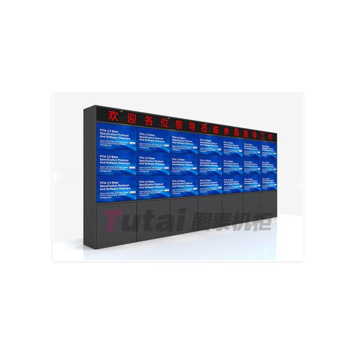 图泰工厂直销 电视墙机柜厂家 电视墙机柜  豪华电视墙机柜