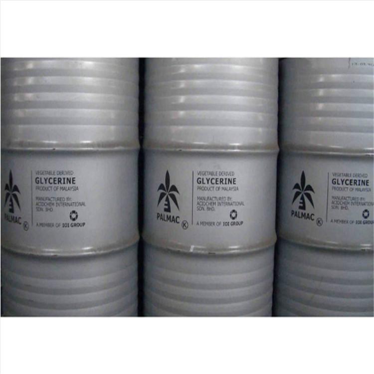 批发销售 高含量工业丙三醇 马来椰树甘油丙三醇