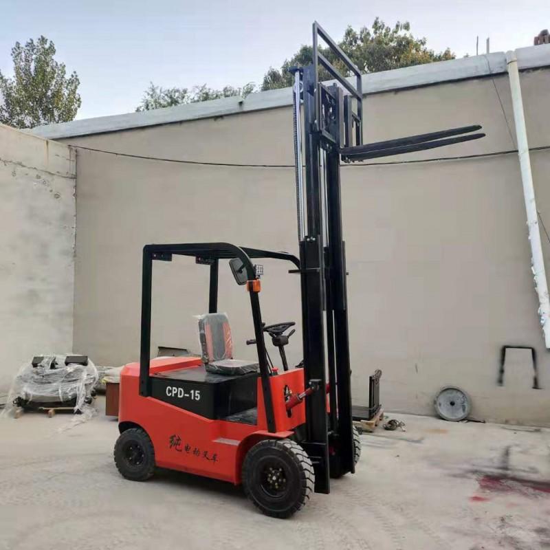 圣友重工 环保堆高车 电动堆高车叉车 小型堆高车