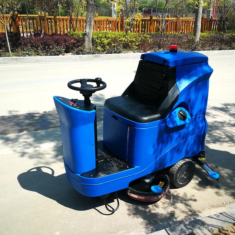 宏瑞达驾驶式洗地机工厂车间地下车库洗地机物业机场驾驶式洗地机