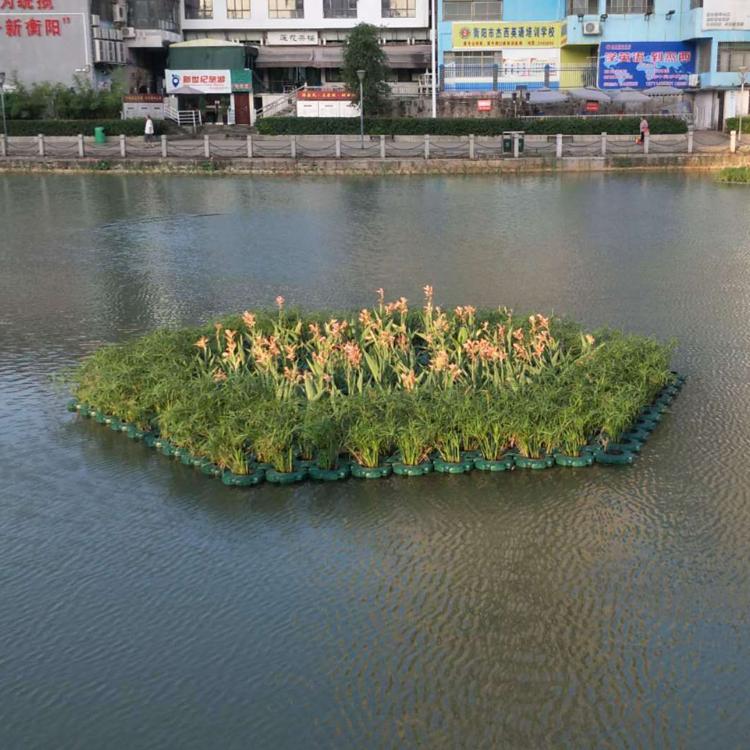 水生植物人工浮岛 景观生态浮岛 人工浮床施工厂家