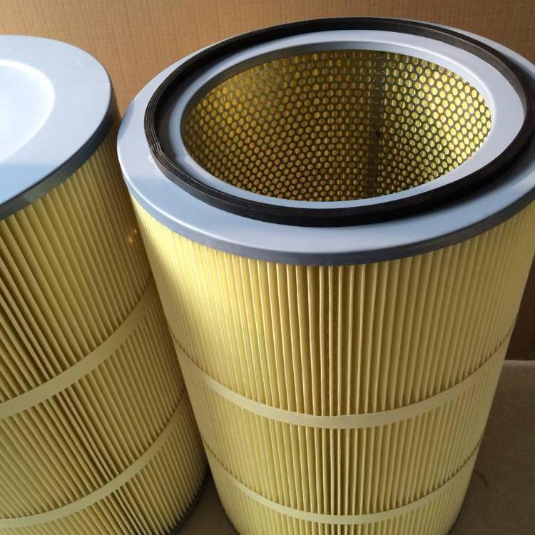 供应 空气过滤筒滤芯 喷涂房用过滤粉尘滤芯 耐高温除尘滤芯