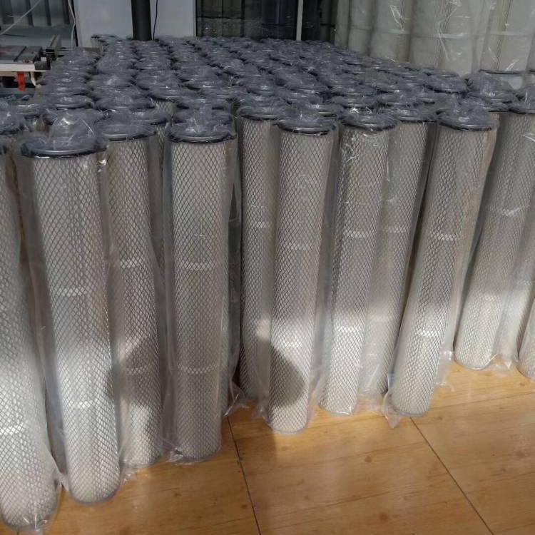 厂家生产 除尘滤芯 粉尘滤筒 工业环保设备滤筒
