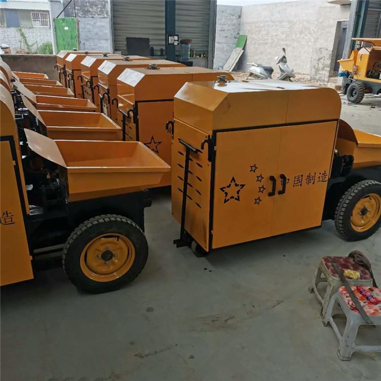 豪康 小型细石砂浆泵 大颗粒混凝土输送泵 厂家批发